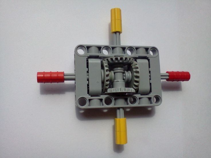 Image result for horizontally placing lego gears on a plate