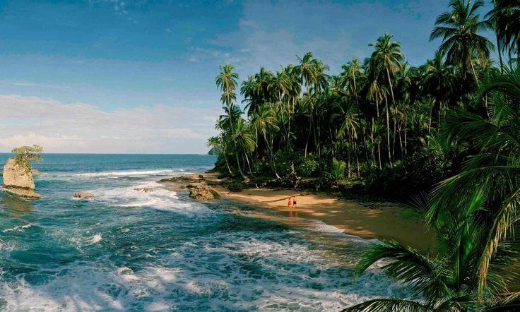 Manzanillo on Costa Rica's Caribbean coast near Puerto Viejo