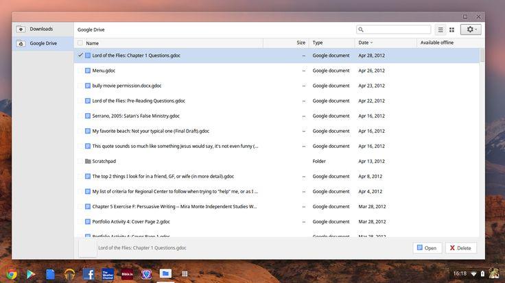 Chrome OS pasa de los usuarios de Linux y retira su soporte a ext 2/3/4