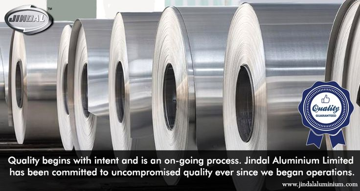 Quality begins with intent and is an on-going process. Jindal Aluminium Limited has been committed to uncompromised quality ever since we began operations. Our quality certifications are a testament to our commitment to quality. Check out our quality policy @ http://www.jindalaluminium.com/jindal-quality-policy.php