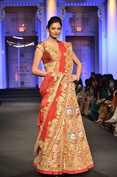 Pallavi Jaikishan bridal wear 2012 at bridal week
