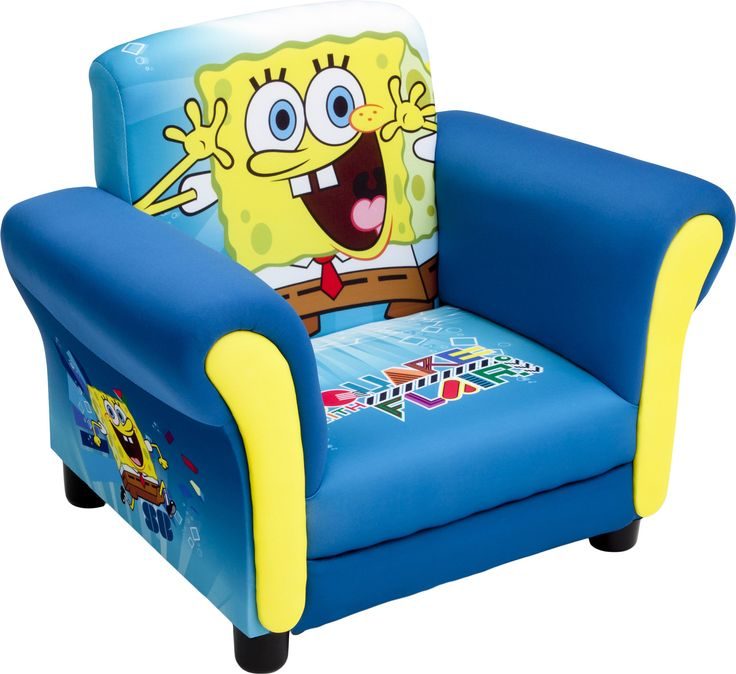 Spongebob Kids Club Chair Products Upholstered Chairs