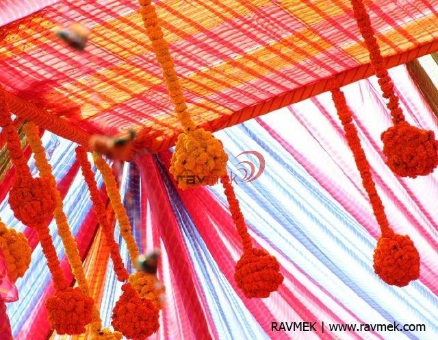 Marigold Flower Decor Floral Decor Rajasthani Decor Lehariya