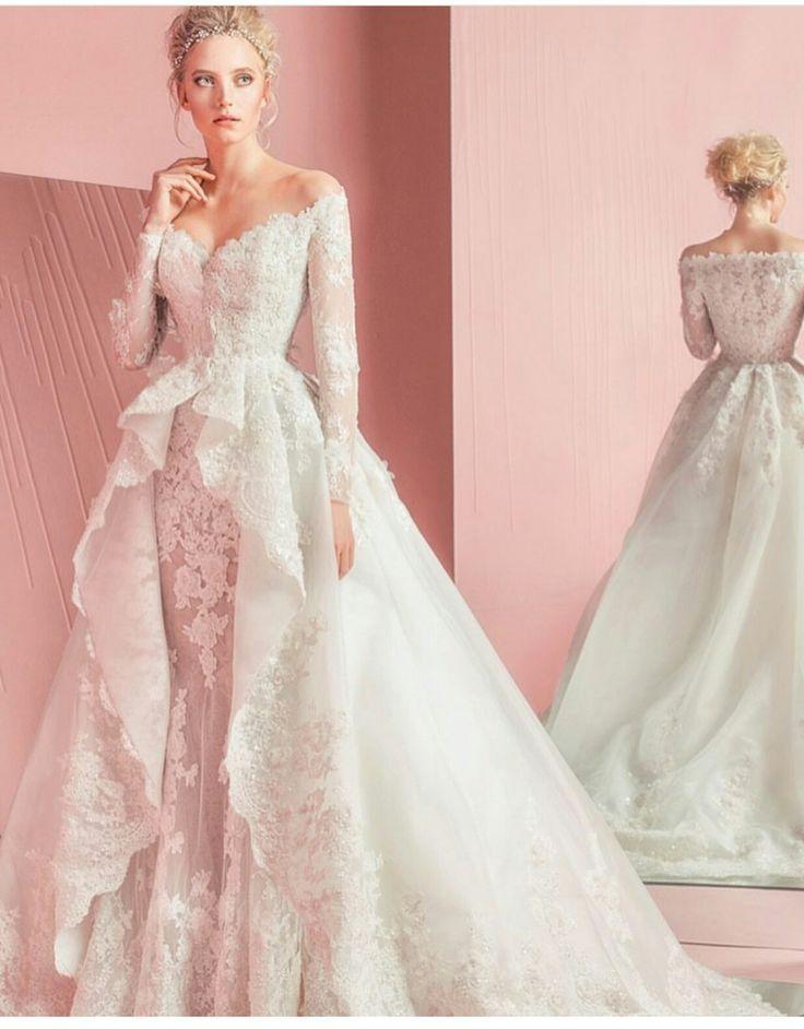 137 mejores imágenes de Bridal dresses en Pinterest | Peinado de ...
