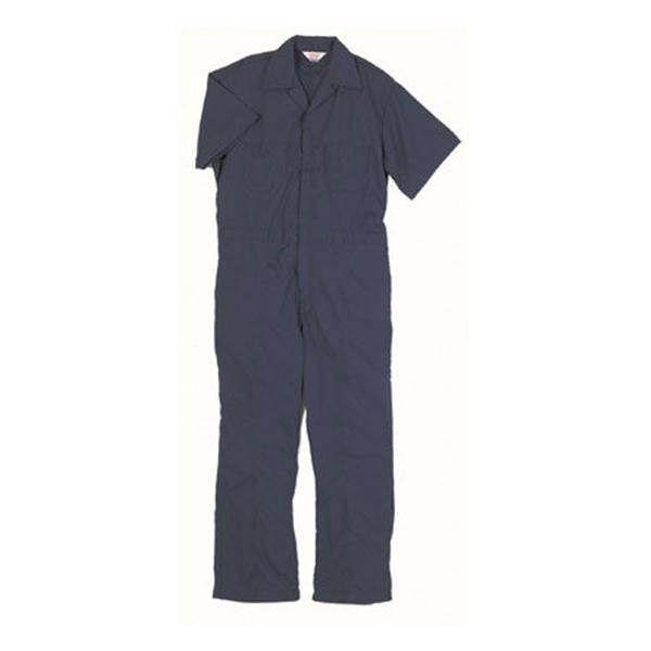 Walls Men's Short Sleeve Poplin Twill Non Insulated Coveralls from Blain's Farm and Fleet