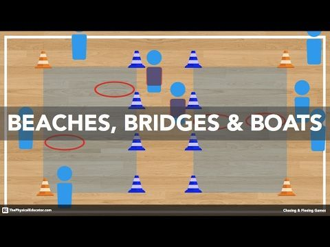 Builders And Bulldozers - Physical Education Game (Health And Fitness) - YouTube