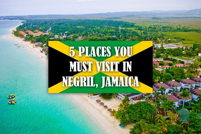 If you happen to find yourself in Negril, Jamaica, here are 5 places you must visit. I was recently in Negril on a media trip with Visit Jamaica. What a place!