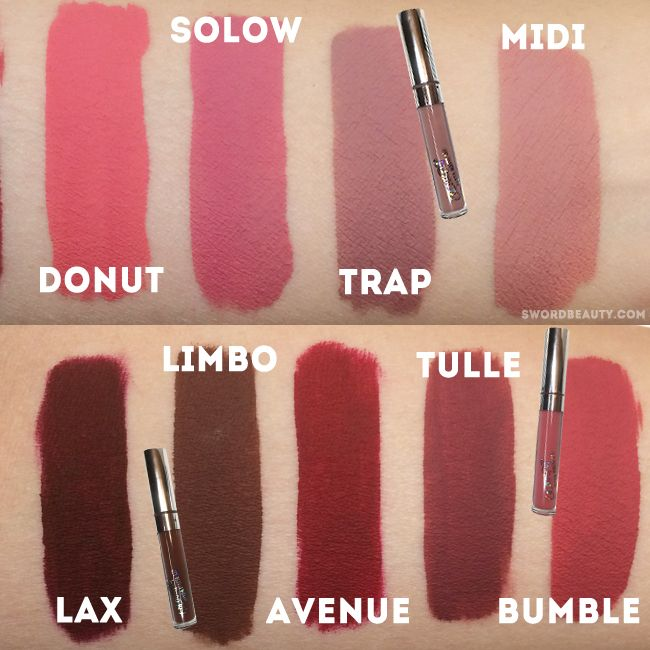 colourpop ultra matte lippies