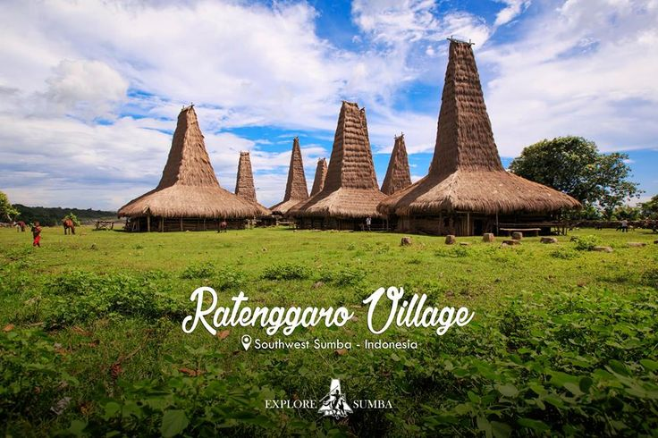In the south-west regency of Sumba you can find Ratenggaro village. This village has the tallest roofs in Sumba and gives home to the friendly locals who will welcome you with open arms. The roofs can reach up to 22 meters high and are truly impressive. If you want to know how to get there contact us and we will be happy to take you there.