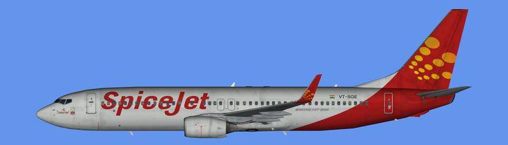 SpiceJet Boeing 737-800 Winglets FS9