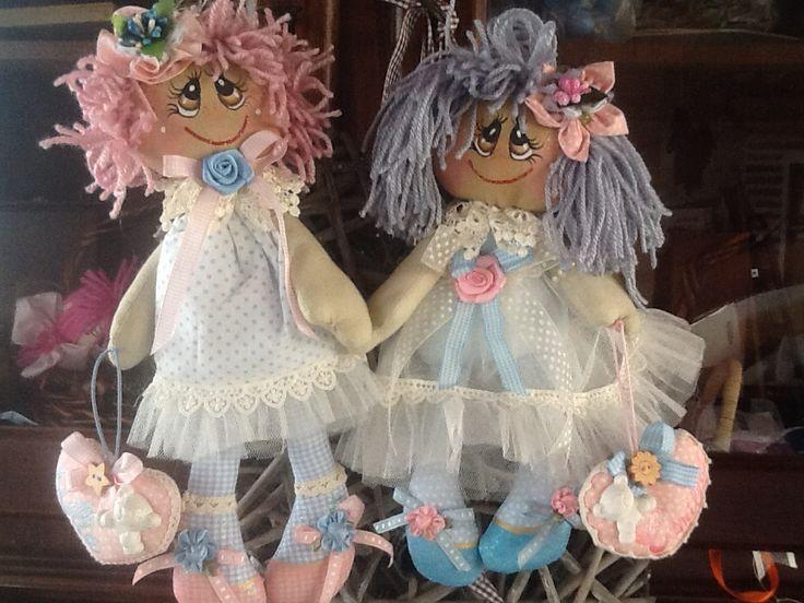 Lilla e Camilla Due gemelle..  Belle ma monelle..❤️