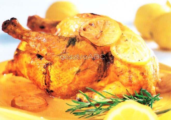 Citromos csirke   Receptek   gasztroABC