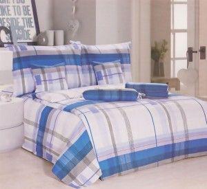 KREPOVÉ POVLEČENÍ na 2 postele + prostěradlo zdarma