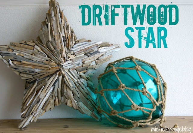michelle paige: Make Your Own Driftwood Star...Easily!