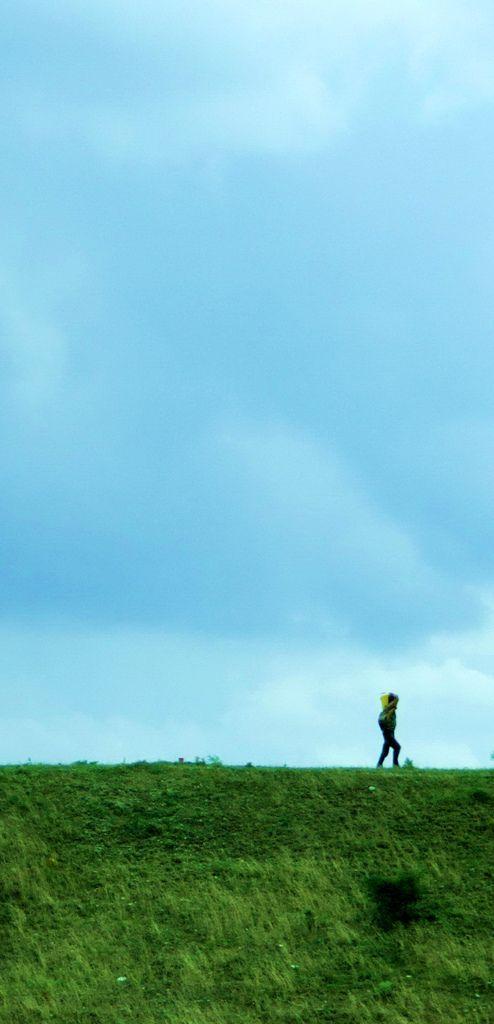 Walking lonely