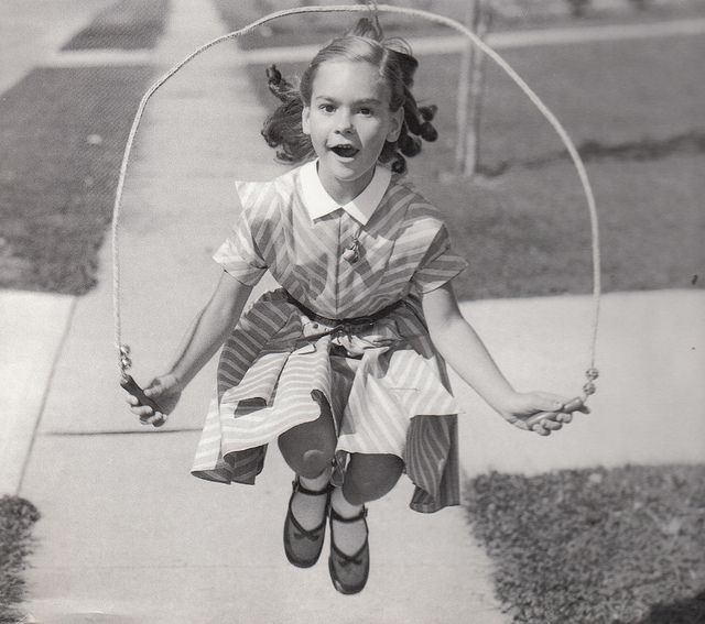 Happy in the Suburbs c.1950's
