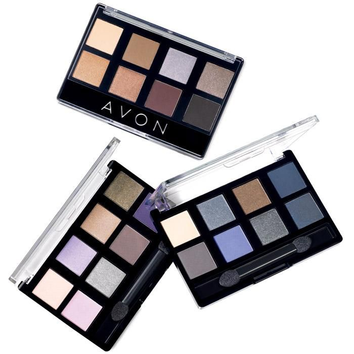 All vivid shades! Avon True Color 8-in-1 Eyeshadow...All-day, crease-resistant wear. Control intensity with wet or dry application.    BENEFITS • Eight great shades of creamy smooth powder eyeshadow blends to a silky velvet finish • All day crease-resistant wear • Control intensity with wet or dry application • Provides true color payoff • Feels ultra comfortable on lids • Blendable formula that glides over lids easily • Go from day to night with one palette • Comes with a doe foot…