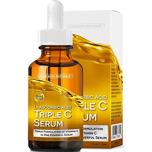 OZNaturals- Vitamin C Serum For Your Face Contains Professional Strength 20% Vitamin C + Hyaluronic Acid -  Anti Wrinkle, Anti Aging Serum For A Radiant & More Youthful Glow! Allure Magazine's Best In Beauty!