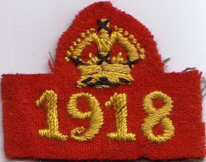 http://lesliesguidinghistory.webs.com/interestbadges.htm War service badge, with year shown