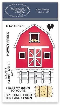 Funny Farm Stamp Set