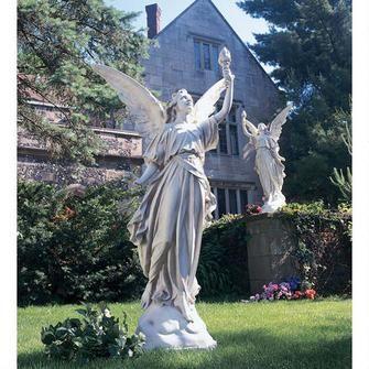 """Angeli di Luce Statue: Set""  [www.DesignToscano.com]"