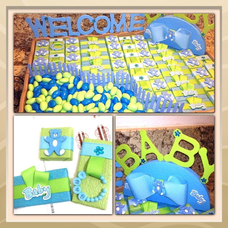 Chocolate favors arrangements a collection of food and for Baby shower tray decoration