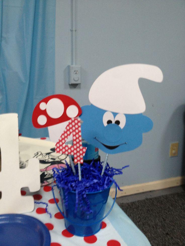 Smurfs Baby Shower Cake Ideas And Designs