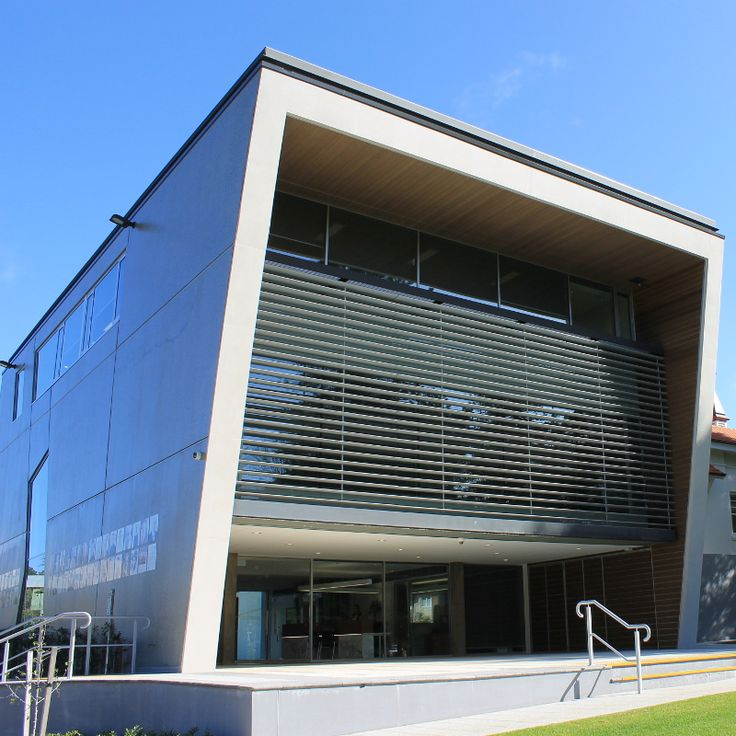 Claremont Council Chambers, Perth by MPS Architects. External cladding in Kerlite 1000x3000 sheets by @cottodeste