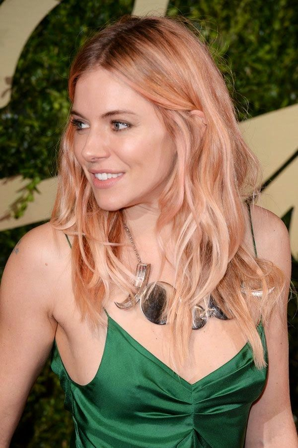 In December last year, Sienna Miller showed off ethereal rose-gold hair, sparking our obsession with a hue previously reserved for jewellery. Description from yotsblog.wordpress.com. I searched for this on bing.com/images