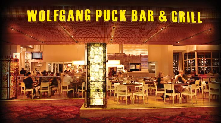 Eat at Wolfgang Puck Bar & Grill an American Restauran