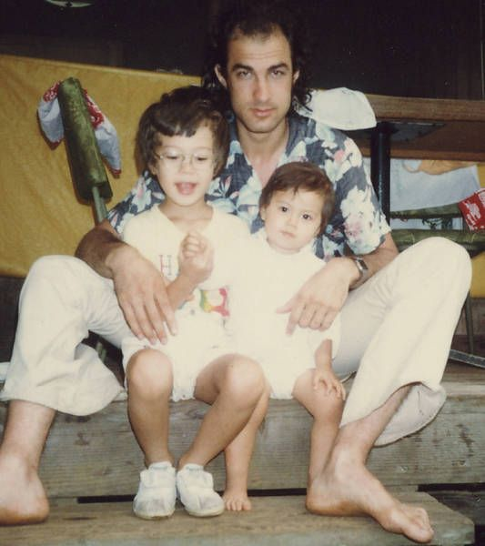 Steven Seagal w/kids Kentaro and Ayako