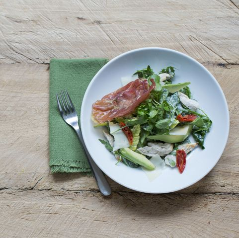 Chicken & Prosciutto Salad | Discover New Favourites with the Zizzi Spring Menu 2014 #ZizziFavourites