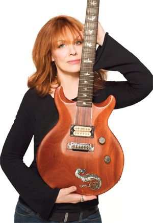 Nancy Wilson (Heart)-An awesome guitarist, who often gets overlooked for her art and skill because she's a woman.