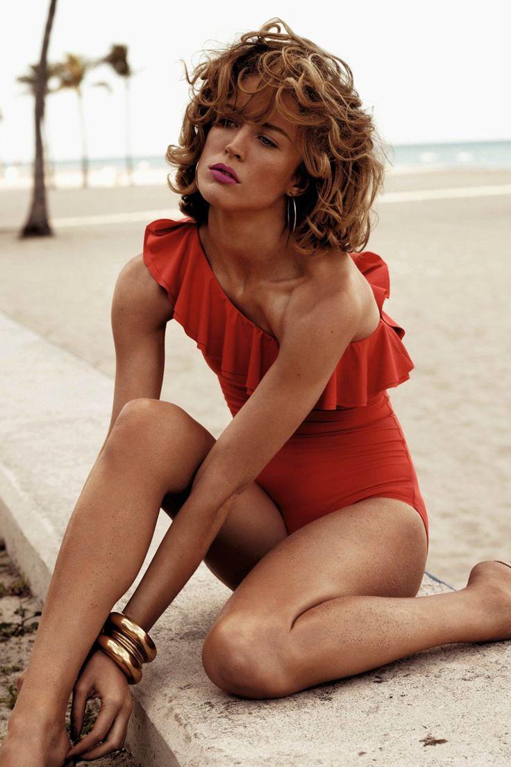 Brazilian beauty Raquel Zimmermann shot by Josh Olins for the June 2011 issue (Vogue.co.uk)