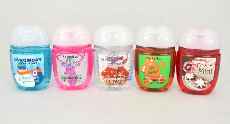 Sanitizer Gel Antibactérien BATH AND BODY WORKS au choix Pocketbac sanitizer