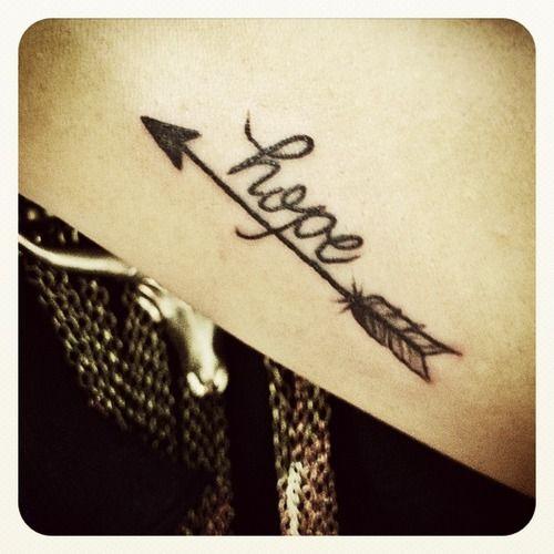 Love the arrow!