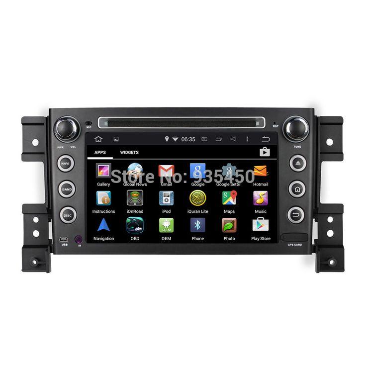 ROM 16G 1024*600 Quad Core Android 4.4.4 Fit SUZUKI GRAND VITARA 2006-2011 Car DVD PLAYER GPS NAVIGATION Radio WIFI BLUETOOTH  3 #Affiliate