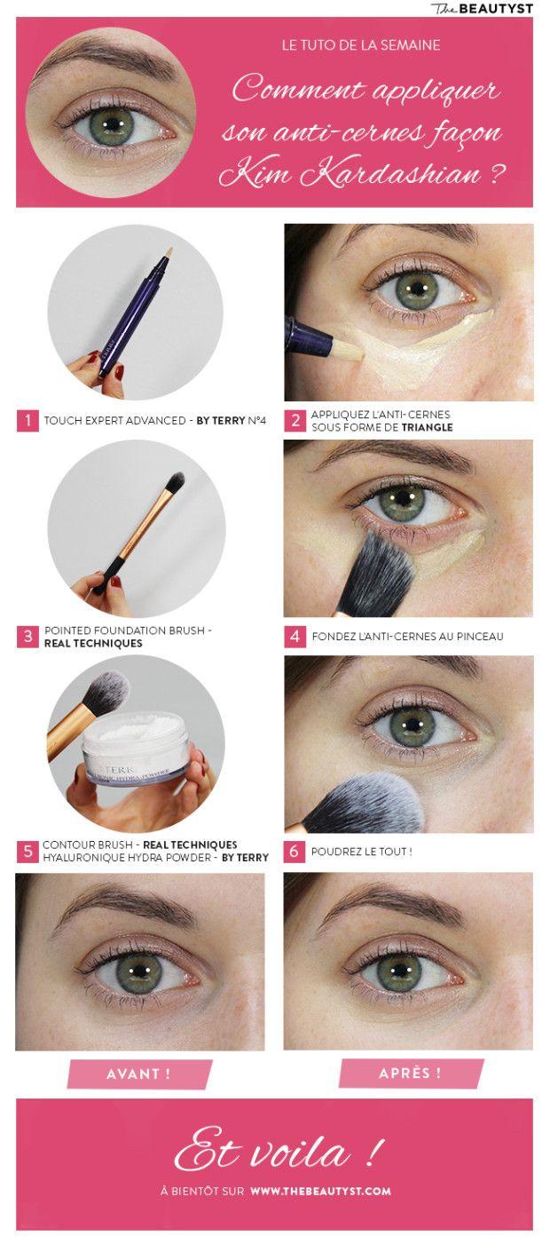 Les 180 meilleures images propos de maquillage sur - Comment faire le maquillage de kim kardashian ...