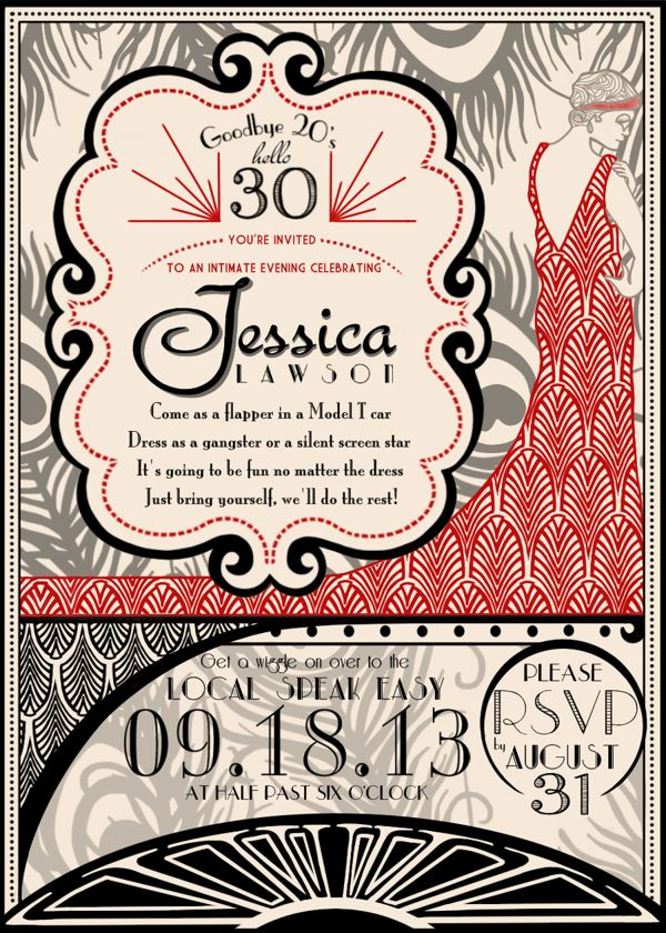 47 best 30th birthday ideas images on Pinterest - birthday invitation model