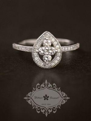 Bitter Sweet Jewellery, fine sterling silver vintage style ring. # ...