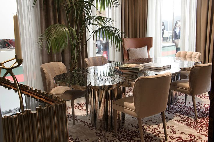 Maison et objet 2018 Contemporary Rugs Dining Room Rugs #Maisonetobjet2018 #ContemporaryRugs #DiningRoomRugs