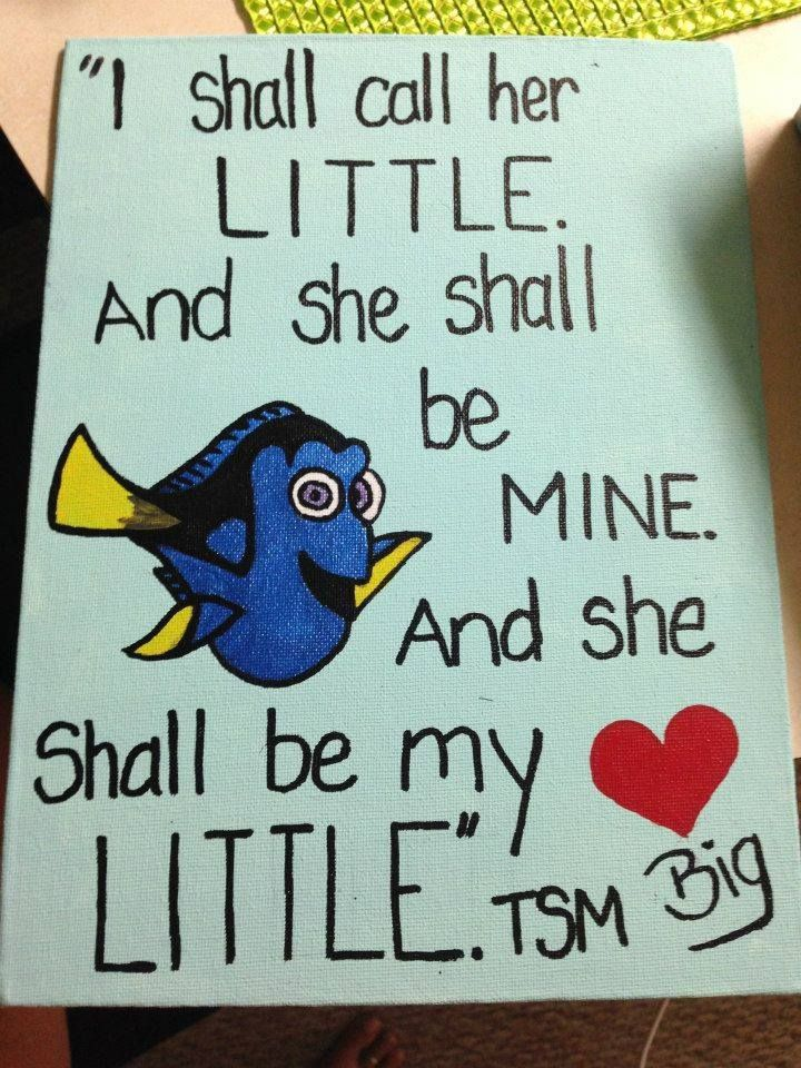 25 best big little quotes on pinterest little sister for Sorority crafts for little