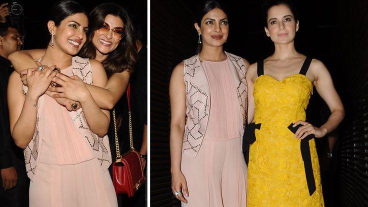 Priyanka Chopra parties with Kangana Ranaut and Sushmita Sen