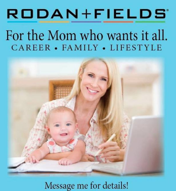 Becoming a Rodan+Fields Independent Consultant allows you the opportunity to own YOUR business, work flexible hours that YOU want to work,  earn an easy income... Message me for info! www.cpierce4.myrandf.com
