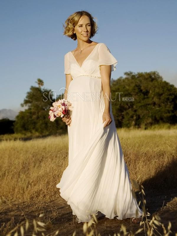 Hochzeitskleid natur