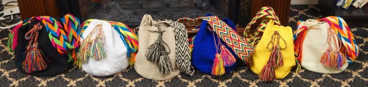 Handmade Wayuu bags from La Guajira, Colombia to Canada and USA.