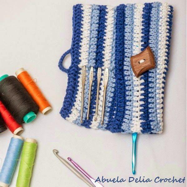 Estuche para Agujas de Crochet | Crochet Hooks Case