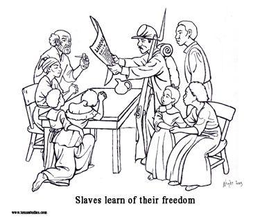 jueenth coloring sheets Google Search Emancipation