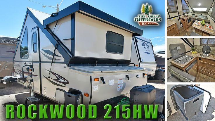 New pop up hard side 2018 rockwood 215hw a frame camper rv for Premier motors elkhart indiana