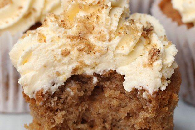 Preview: Estes cupcakes de maçã são super levinhos e deliciosos